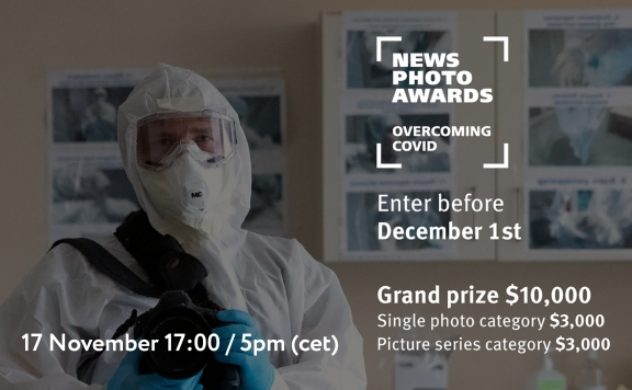 Entry deadline for News Photo Awards. Overcoming COVID contest extended to December 24